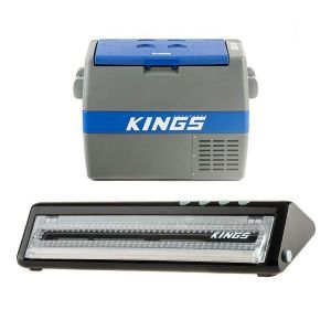 Adventure Kings 60L Camping Fridge + Vacuum Sealer
