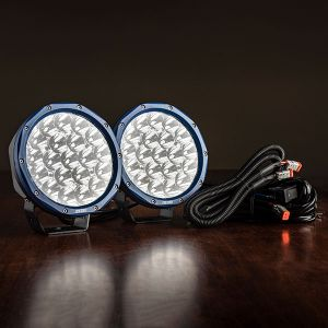 "Pair of 7"" OSRAM LED Domin8rX Driving Lights 