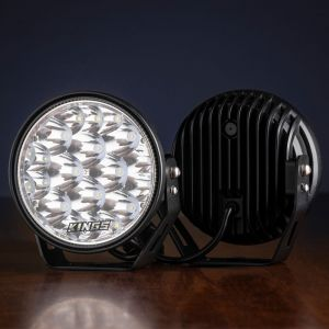 "Kings Domin8r Xtreme 7"" LED Driving Lights (Pair) 