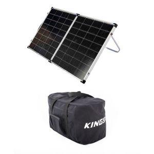 Kings Premium 160w Solar Panel with MPPT Regulator +  40L Duffle Bag