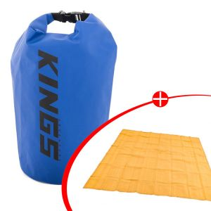 Adventure Kings Mesh Flooring 3m x 3m + 15L Dry Bag