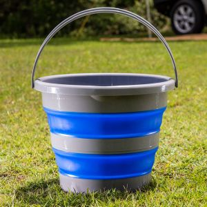 Kings Collapsible 10L Bucket | Compact | Durable | Versatile | Long Lasting