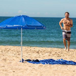 Adventure Kings Beach Umbrella | Lightweight & Portable | Strong Frame