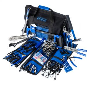 Big Daddy Tool Kit | 174 Pieces | Spanners, Sockets, Pliers & More | Inc. Spares & Storage Bag | Adventure Kings