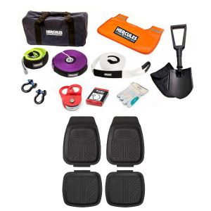 Hercules Complete Recovery Kit + Deep Dish Floor Mats Set of 4
