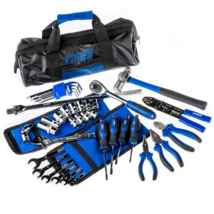 Essential Toolkit | 44 Pieces | Spanners, Sockets, Pliers & More | Inc. Storage Bag | Adventure Kings