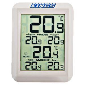 Wireless Camping Fridge Thermometer | 30m Range | Works w/ Any Brand Fridge | Adventure Kings