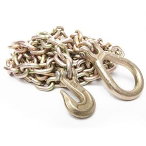 Hercules 4WD Drag Chain | Heavy Duty Steel | Hook & Eyelet