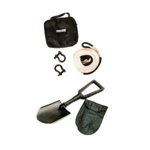 Hercules Snatch Strap Kit + Recovery Folding Shovel