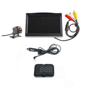 "Adventure Kings Heads Up Display (HUD) + Adventure Kings Reverse Camera Kit with 5"" Screen"