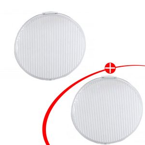 "Illuminator LED 9"" Driving Light Flood Covers (Pair)"