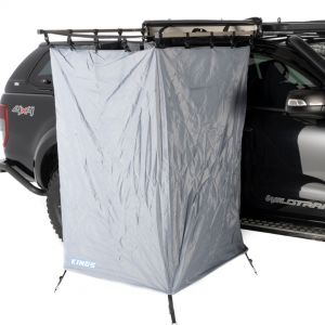 Kings Instant Ensuite | Awning Shower Tent | 30 Second Setup | Integrated Frame | 210D Ripstop Oxford Material