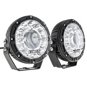 "Kings 7"" Laser Driving Lights (Pair) 