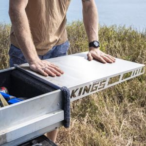 Adventure Kings Drawer Table suitable for 1070mm Titan Drawers | Marine Grade Stainless Steel