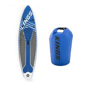 Adventure Kings Inflatable Stand-Up Paddle Board + 15L Dry Bag