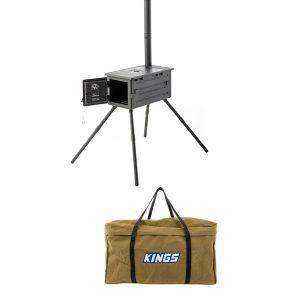 Premium Camp Oven Stove + Camp Oven BBQ Bag