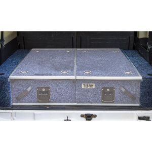 Wings For Titan Rear Drawers - Suitable for Nissan Patrol ST-L, Y61