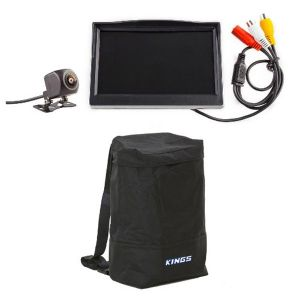 "Adventure Kings Reverse Camera Kit with 5"" Screen + Dirty Gear Bag"