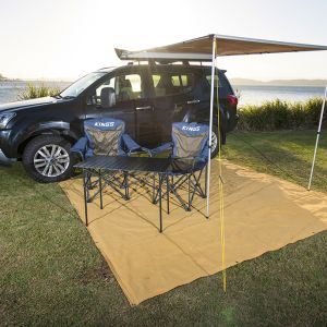 Kings Portable Alloy Camping Table | Sturdy | Lightweight | 30sec Setup