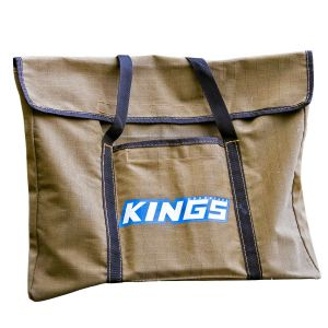 Kings Portable Firepit Bag | 400GSM Ripstop Canvas | Heavy-Duty Handles