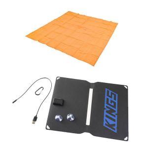 Adventure Kings Mesh Flooring 3m x 3m + Adventure Kings 10W Portable Solar Kit