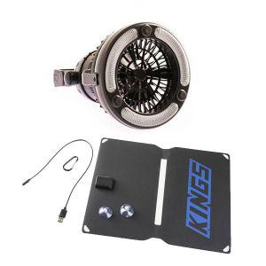 Adventure Kings 10W Portable Solar Kit + 2in1 LED Light & Fan