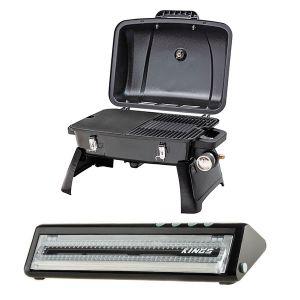 Gasmate Voyager Portable BBQ + Adventure Kings Vacuum Sealer