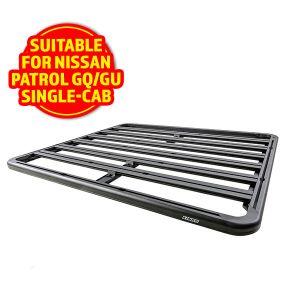 Adventure Kings Aluminium Platform Rack Suitable for Nissan Patrol GQ/GU Single-Cab