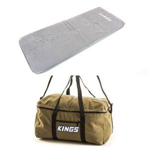 Self-Inflating Foam Mattress - Single + Travel Canvas Bag
