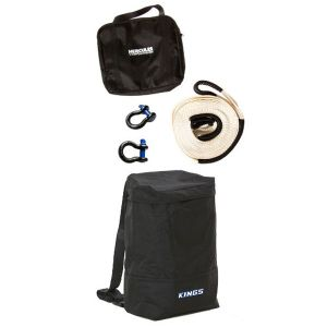 Hercules Snatch Strap Kit + Adventure Kings Dirty Gear Bag