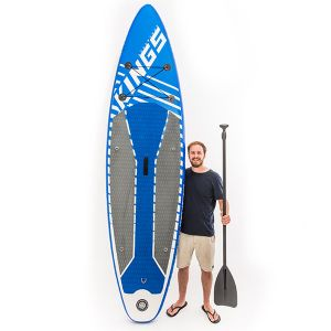 Kings Inflatable Stand-Up Paddle Board | 10ft 6in | HUGE 150kg rating | Inc. Pump, paddle & more