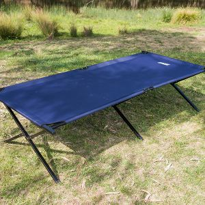 Adventure Kings Camping Stretcher Bed | 1m Wide | Steel Frame
