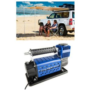 Adventure Kings Awning 2x2.5m + Thumper Air Compressor MKII
