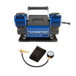 Thumper Max Dual Air Compressor + Kwiky Tyre Deflator