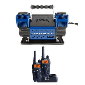 Thumper Max Dual Air Compressor + Oricom Handheld UHF CB Radio Twin Pack - UHF2190