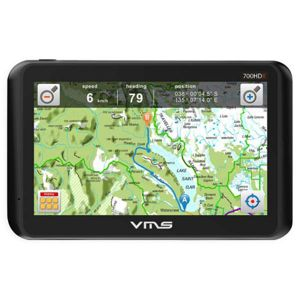 VMS Touring 700 HDX | 1,000+ Free Campsites | 3000 4WD maps | 7in HD Screen | Oz-Wide On-Road Nav