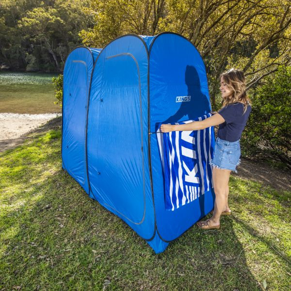 Adventure Kings Double Ensuite\/Shower Tent + Solar Shower , Outdoor Products